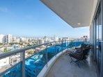 Balcony view of Santo Domingo
