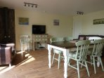 Dining area and multi fuel stove