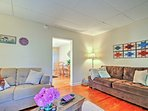 This townhome features 3 bedrooms and 1.5 bathrooms.