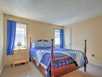 Two guests will sleep comfortably in the third bedroom's queen bed.