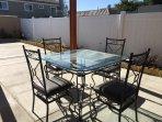 Back yard table