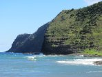 Sea Cliffs of Northeast Molokai.