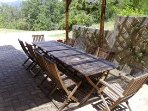Dining terrace - great for BBQ and alfresco dining