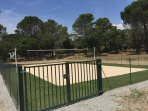 New!! Beach volley ball court.