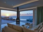 Enjoy the glorious sunset from the comfort of your sofa!