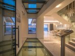 Spread across three levels and 510 m2 this property can accommodate 12 guests!