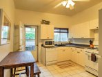 Prepare a tasty home-cooked treat in this fully equipped kitchen.