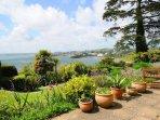 Communal garden with panoramic views