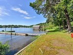 Private Lakefront Outdoor Space.