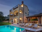 Charming Villa with pool at the very heart of central Istria