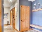 Snowbird 304 Passage leading to Bathroom & Master Bedroom