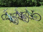 5 bikes available for your use (May 1 - Nov. 1)