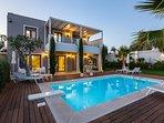 Villa Vasia features an amazing 35 m2 private pool!