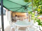 gazebo dove si può pranzare all 'esterno