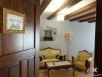 Salón del apartamento Flor de Nieu