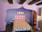 Dormitorio del estudio Tefla