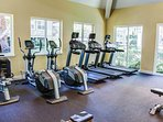 Your state of the art fitness room