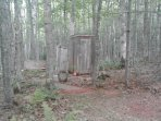 Clean outhouses (neat & tidy, running water, 2 more newly built spring 2018, no pics yet)