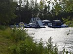 Just Wake Aqua Park in Tattershall Lakes Park