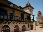 Places to go - Beaulieu-sur-Dordogne with it's village of timber framed houses