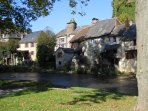 Segur-le-Chateau winner of the 'Beaux Villages de France' 10mins away with a Monday morning market