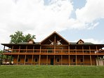 Hawksbill Retreat - The Lodge. Sleeps 30 with 10 bedrooms, 5 bathrooms, game room and so much more.