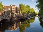 most beautoful canal of amsterdam