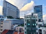 Farrer Park Hospital can be seen from our Apartment