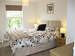 Main bedroom. Can be made up with king size bed or split into 2 single beds with prior notice