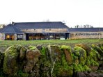 Kingsbarns Distillery a few minutes drive away