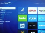 Bring your passwords for Netflix, Hulu etc. to watch on our ROKU TV