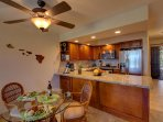 Kitchen 2015 remodel! Granite countertop, walnut soft-close cabinets and drawers
