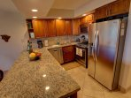 Kitchen 2015 remodel:Quiet dishwasher, Gas range, Microwave hood, fridge/freezer