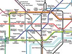 London Underground Map.