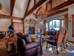 Rustic Timber Lodge