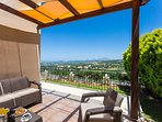 The Villa offers unobstructed views of the area from the veranda!