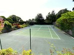 Shared use of tennis court Please bring your own rackets and balls