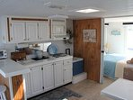 The galley/kitchen