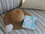 The Lilypad diary...beautiful stories are written from previous guests. Quite the read!