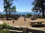 Commons Beach Area in Tahoe City. 1.5 miles from condo.  Easy walk or bike ride.