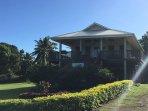 Polynesion styled villa
