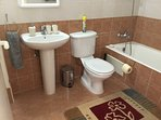 Family toilet & bathroom