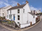 Pilton House Gower (entrance via blue door) is a characterful 3-storey cottage with lots of charm