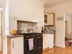 For all who love cooking, Pilton House's range cooker's 8 ring 2 oven & 1 grill's bound to please.