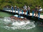 The Aquarium in Rosario Islands, 30 minute in my boat from Cartagena.