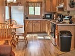 The fully equipped kitchen provides everything necessary for preparing your favorite meals, along with a 4-person...