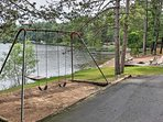The kids will love the swingset!