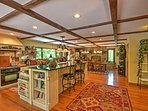Boasting 4,500 square feet of comfortable living space, this home is ideal for large families or groups of friends.