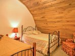 Sleep comfortably in the twin or full-sized bed in the third bedroom.