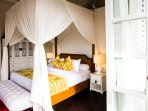 Master suite 2 with rice paddy and mountain views
